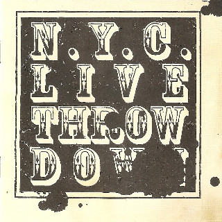 NYC Live Throw Down cover